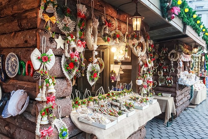 6-Day Small Group Christmas Markets Tour from Bucharest to Vienna