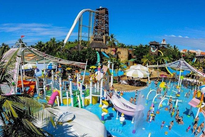 Walk to the Beach Park Water Park and Porto das Dunas Beach