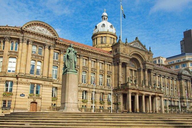 Birmingham Airport Transfers: Airport BHX to Birmingham City in Luxury Van
