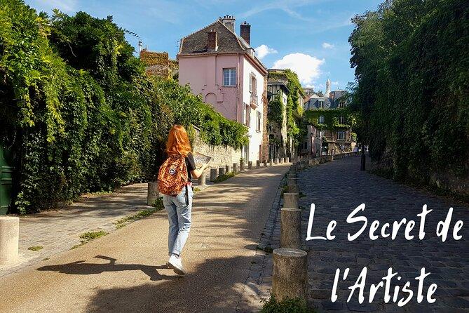 The Artist's Secret - Historical Treasure Hunt in Montmartre