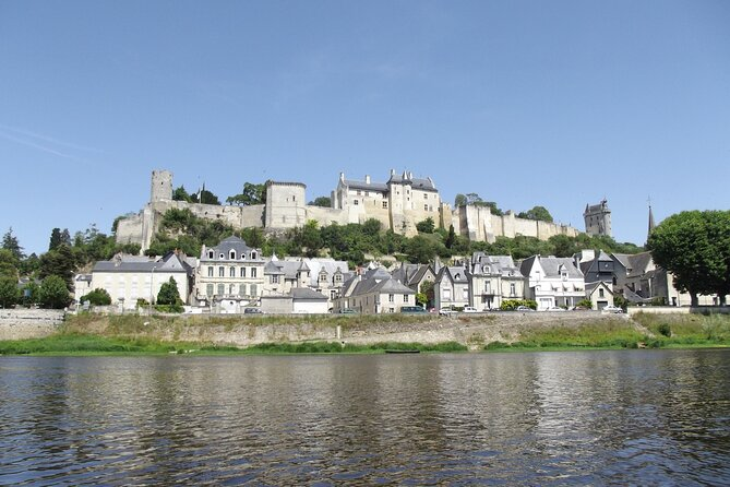 Excursion to the Loire castles of Chinon and Rivau with private driver