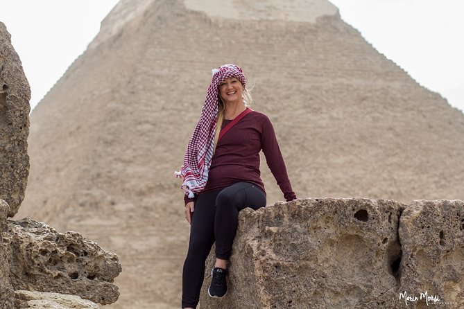 Day Tour To Giza Pyramids, Great Sphinx, Saqqara Pyramids & Memphis Capital