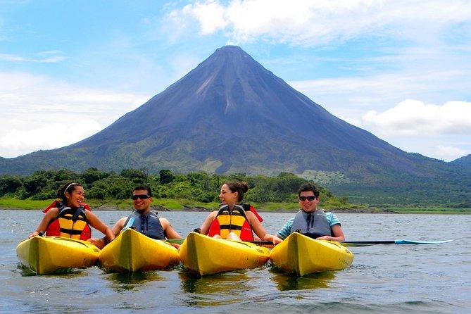 Kayak Tour in Arenal Lake