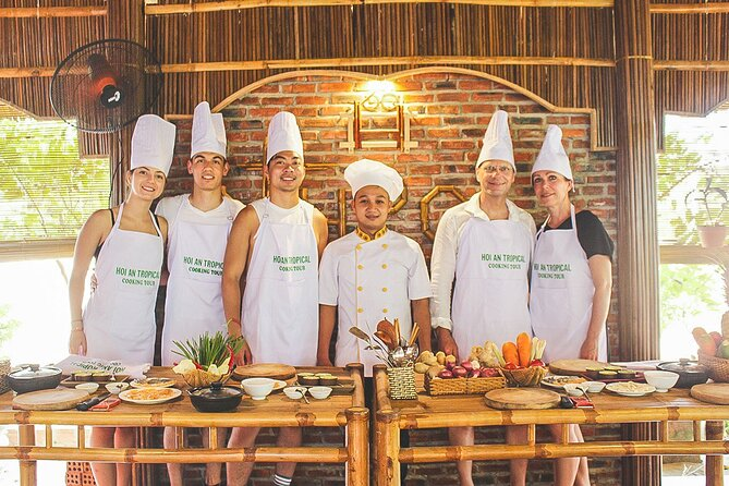 Half day Cooking class at Tra Que vegetable village from Hoi An