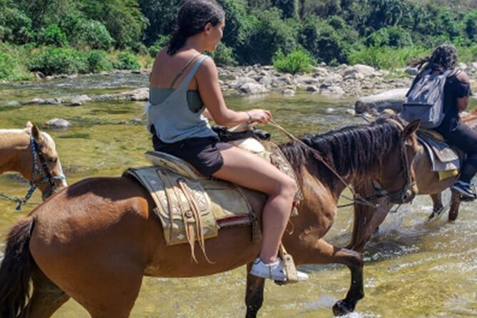 Atotonilco: Horseback ride and hot springs from Puerto Escondido