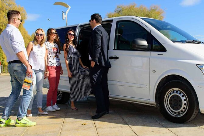 Transfer Sorrento to/from Fiumicino FCO Airport optional Pompeii Stop