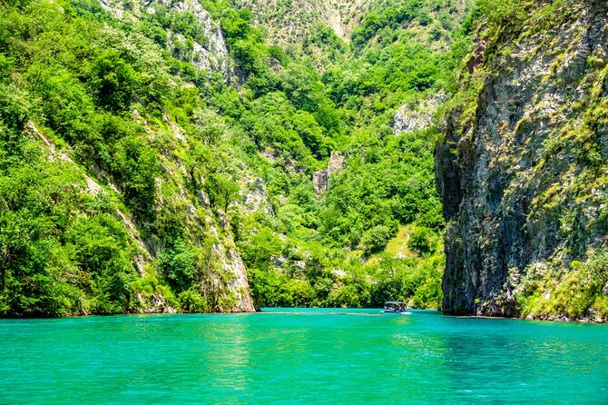 One day tour from Shkodra to Koman lake, visit of Shala river and Lezha