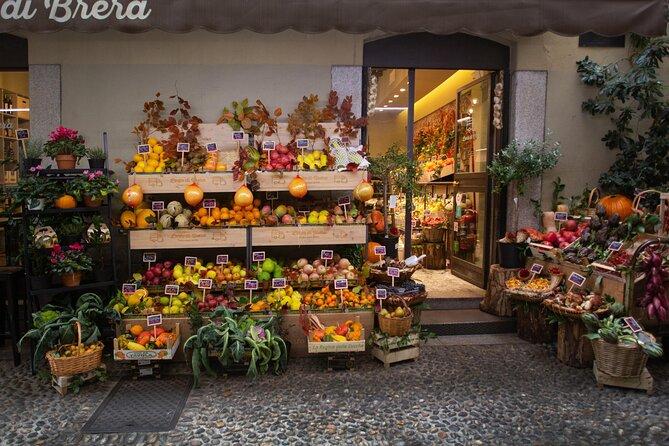 Nourriture à Milan