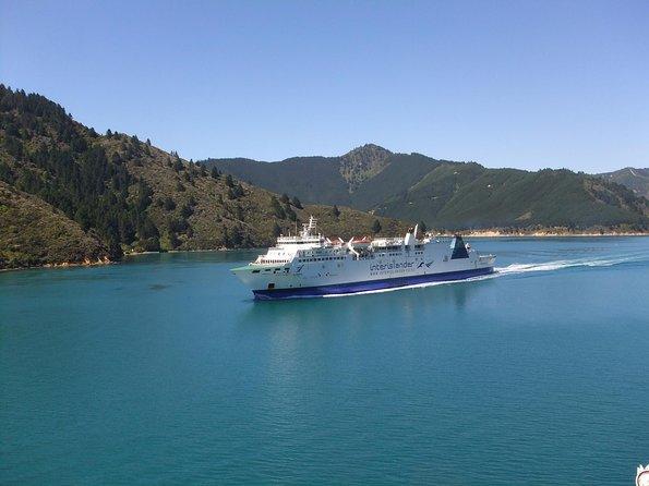 Taking the InterIslander Ferry in New Zealand