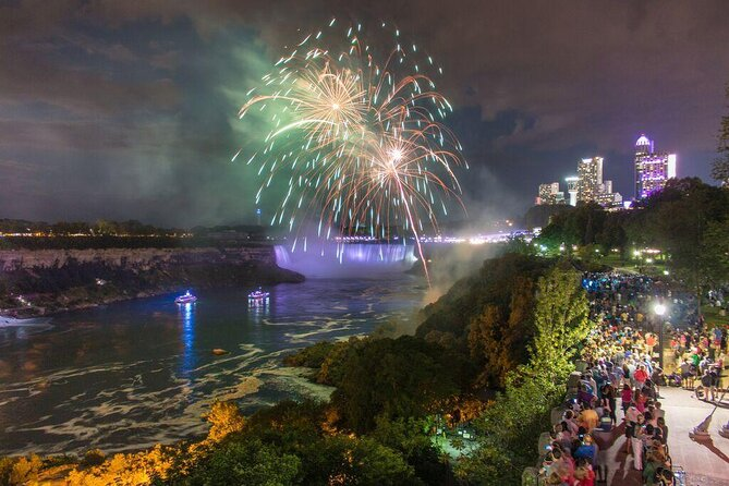 Niagara Falls After Dark: Light Shows and Fireworks