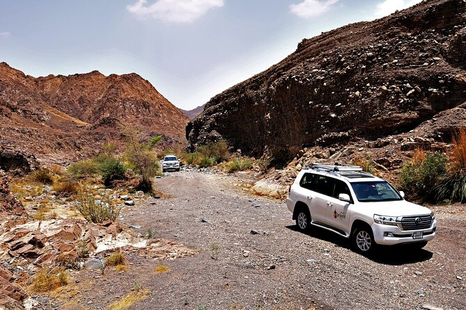 Private 4x4 Desert Drive with Wadi Shawaka Pool Visit with Lunch box