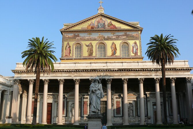 All Access, Private Tour: Holy Churches of Rome with English speaking guide