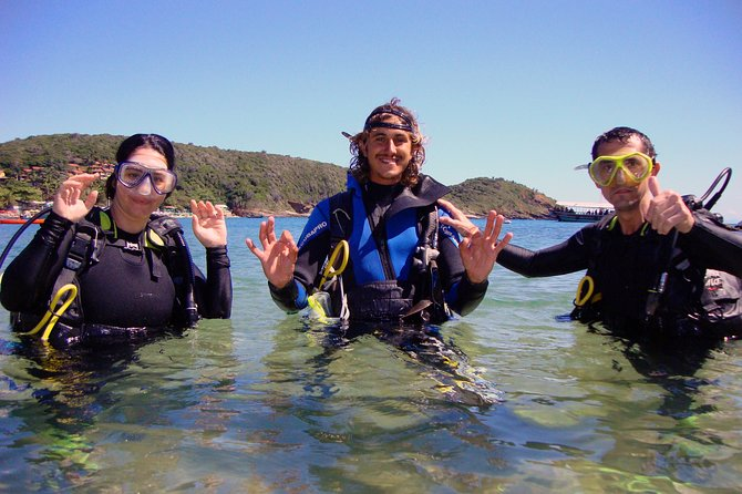 Diving Experience In Buzios