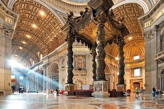 Skip the Line Tour-Vatican Museum Sistine Chapel and St. Peters Basilica