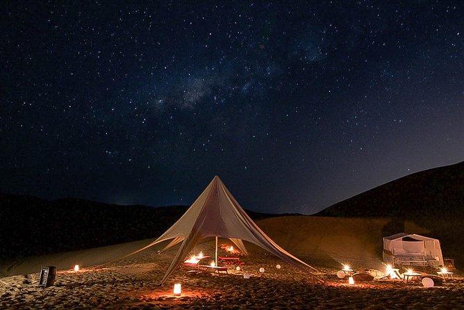 Dinner on Paracas Desert