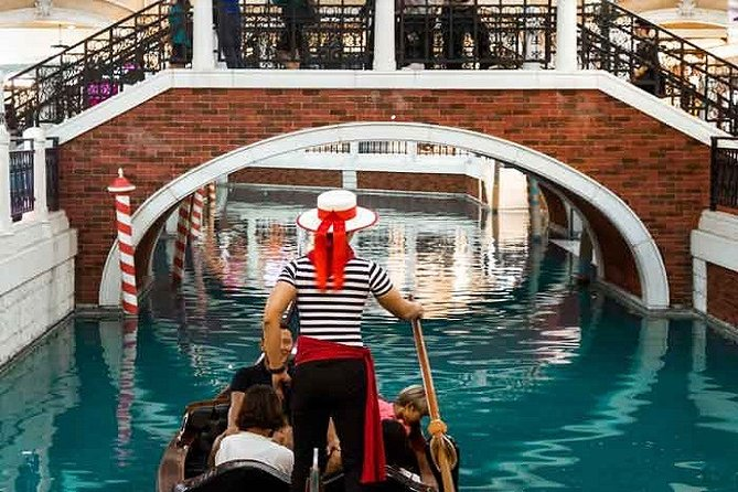Venetian Macau Gondola Ride