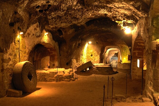 Orvieto and Makes Biscuits in a Cave Shore Excursion from Civitavecchia Port