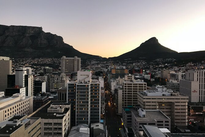 Half-Day Private Tour of Cape Town City with Wine Tasting