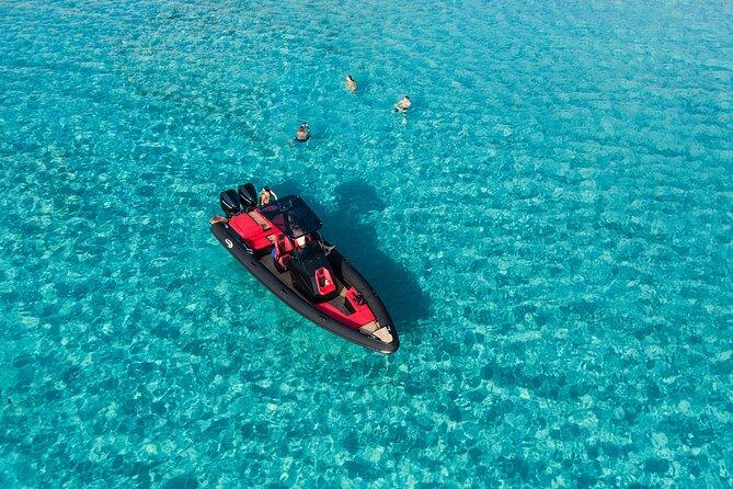 Private luxury boat tour to Kimolos Poliegos