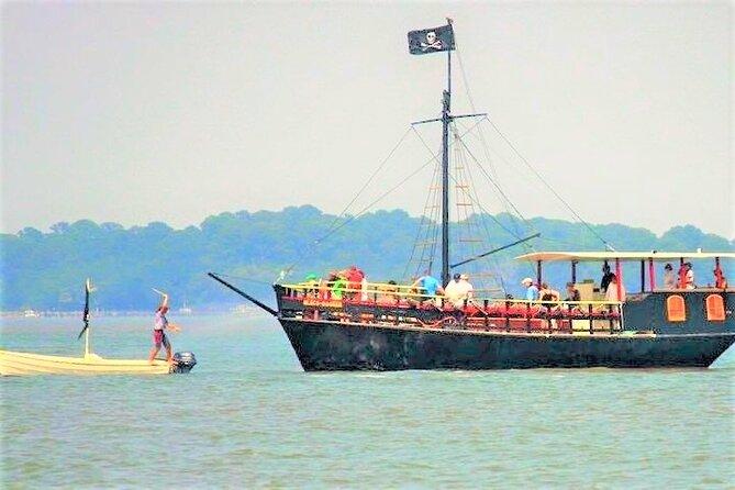 Hilton Head Pirate Ship Adventure Sail aboard the Black Dagger