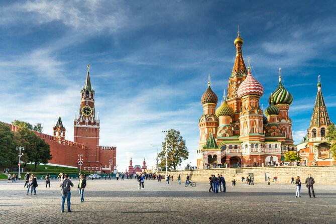 Moscow: Private Guided Tour of Red Square, Kremlin & Metro