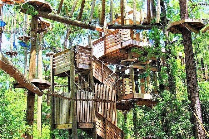 Hilton Head High Ropes Aerial Adventure Admission