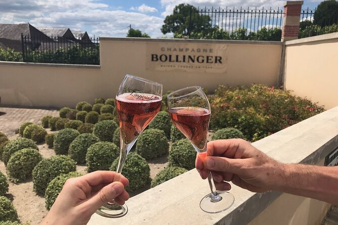 Visit to Epernay and Vineyards with Champagne Tasting