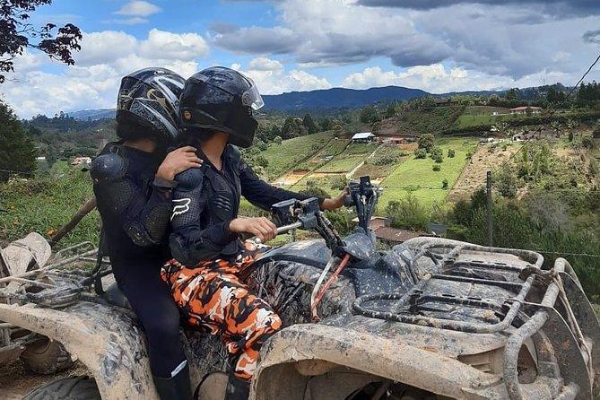 Private ATVS ride through the mountains near Medellín