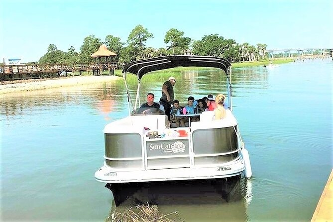 4-Hour Private Hilton Head Pontoon Boat Rental