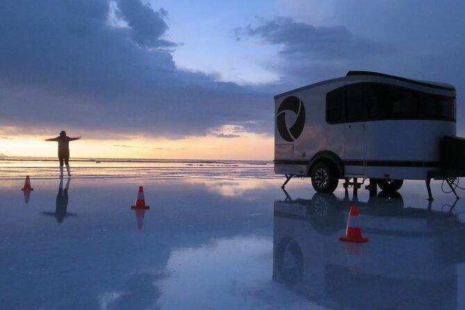 Deluxe Camping in Uyuni Salt Flats