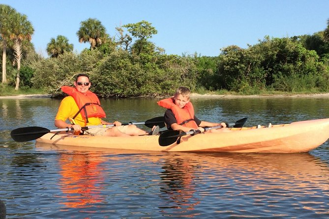 Two Hour Tandem Kayak Rental with dolphins