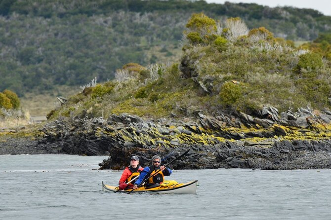 Private Full-Day Sea Kayak Gable Island Tour with Lunch & drinks from Ushuaia