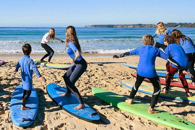 Surfing Class In Geribá Beach