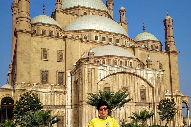 Day Tour to Egyptian Museum, Citadel and Khan Khalili Bazzar in Cairo with Lunch