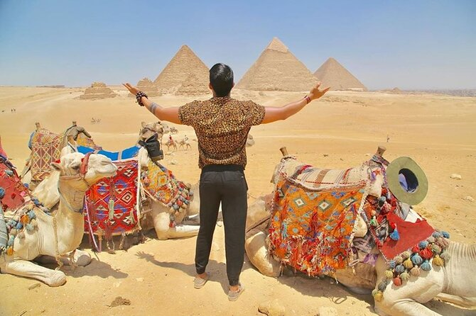 3-Day Private Guided Tour to Cairo, Giza, Alexandria, Saqqara and Dahshur+ Lunch