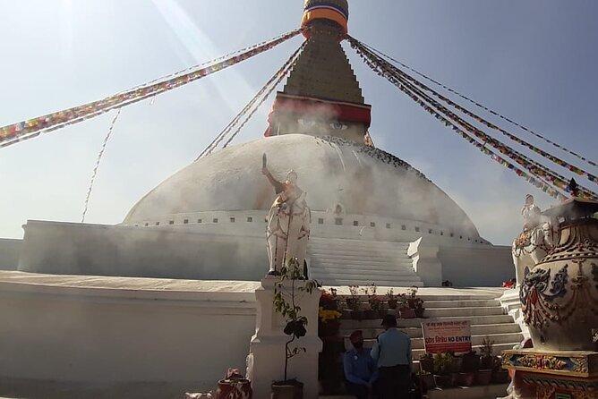 Half day hiking to Swayambhunath Stupa