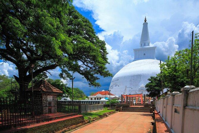 Sacred City of Anuradhapura from Sigiriya