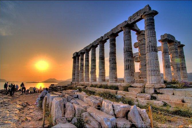 Temple of Poseidon @ Sounio (Sunset and dinner)