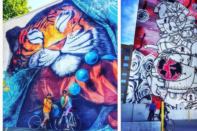Sacramento Urban Murals: Cycle the streets of Sacramento with an audio tour