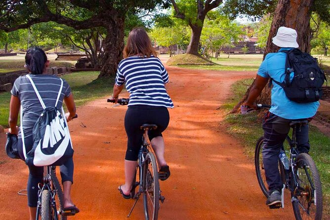 Mihintale Cycling Tour from Anuradhapura