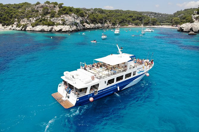 Excursion to the southern beaches of Menorca with paella included HolaCruise