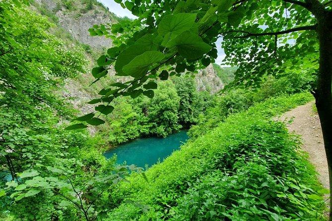 Hiking Matka Canyon from Skopje