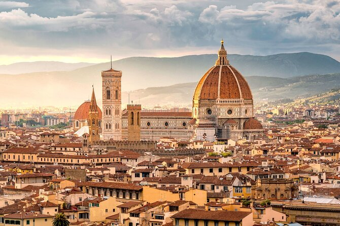 Florence and Chianti wine tasting tour by Minivan from Monecatini