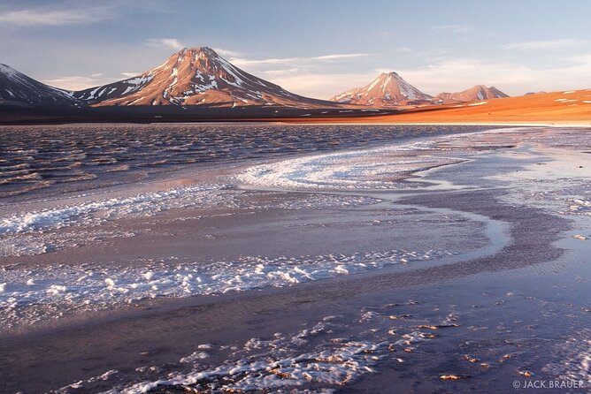 Legia Lagoon and Aguas Calientes Flats in Atacama