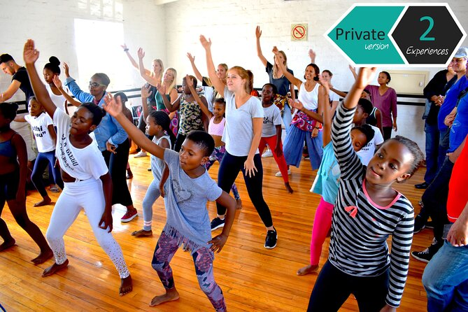 PVT Zumba w/ Kids + African Meal w/ a Restaurant Founder—Township 2-part Tour