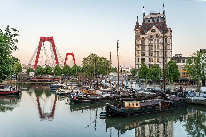 Private bus or car Tours to The Hague, Scheveningen and Rotterdam 1 - 23 persons