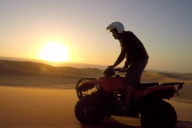 2hr COMBO - 1hr Lie-down Sandboarding and 1hr Quad Bike ride