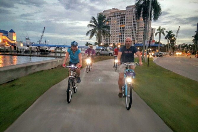 Downtown WPB and Palm Beach Private Bicycle Tour