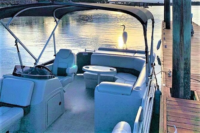 3-Hour Private Hilton Head Pontoon Boat Rental