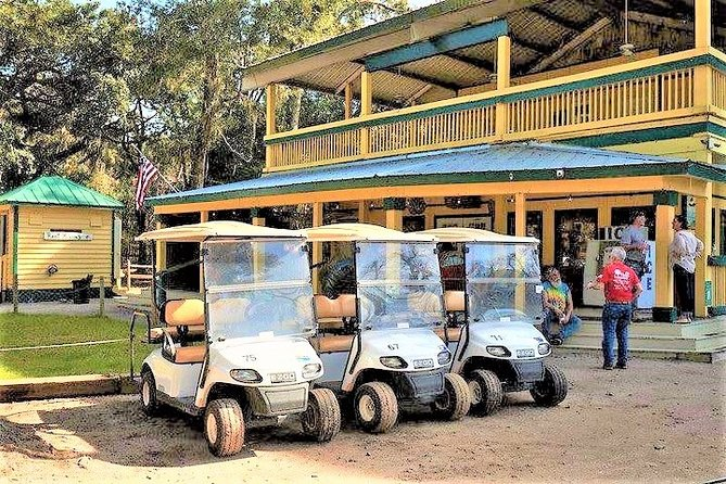 Hilton Head to Daufuskie Island Round-Trip Ferry with 2-Person Golf Cart Rental
